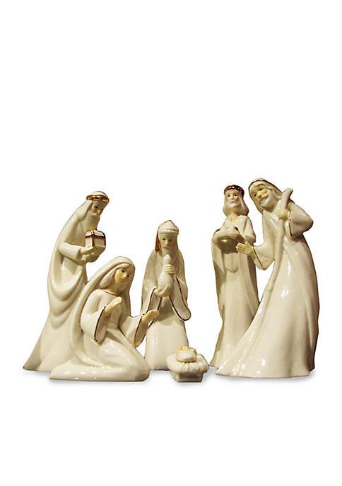 Porcelain Nativity Set