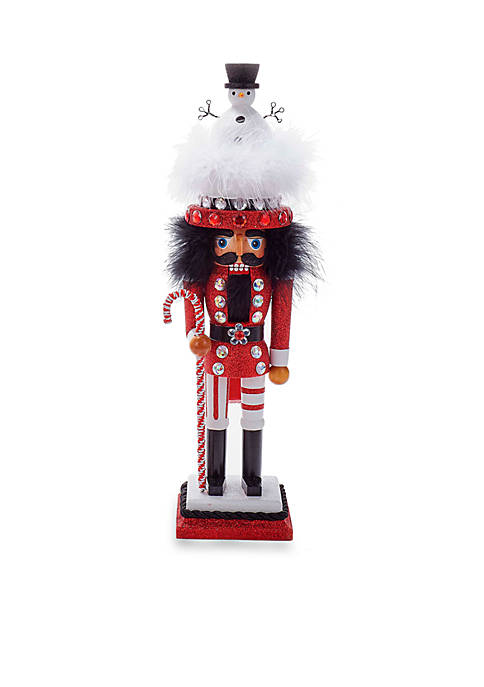 Kurt S. Adler Hollywood Nutcracker with Snowman Hat