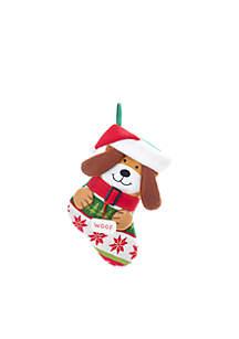 Knitted Dog Stocking