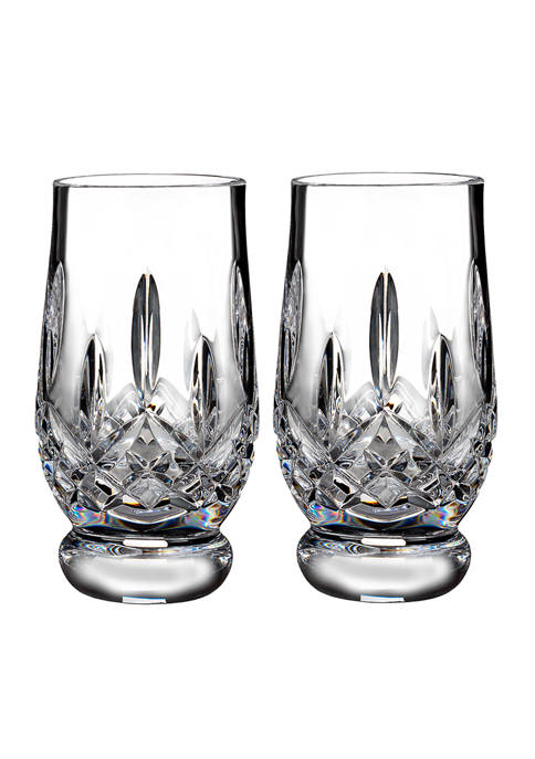 Waterford Lismore Connoisseur Tasting Tumbler Footed Glasses