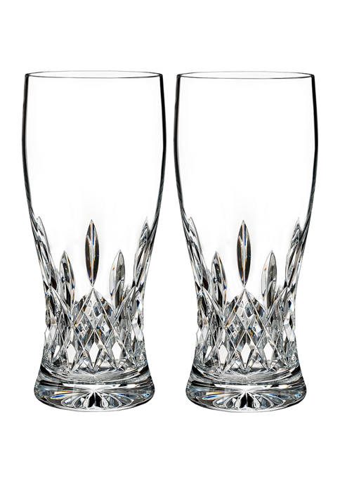 Waterford Lismore Connoisseur Pint Glasses