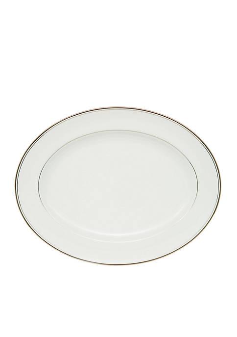 Kilbarry Platinum Oval Platter