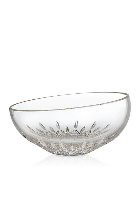 "Waterford Lismore Essence 9"" Angled Bowl"