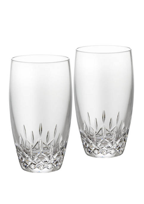 Waterford Set of 2 Lismore Essence HiBall Glasses
