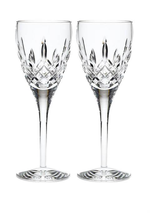 Set of 2 Lismore Nouveau White Wine Set