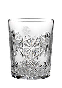 Snowflake Wishes Happiness 2018 Crystal Clear DOF Tumbler Glass