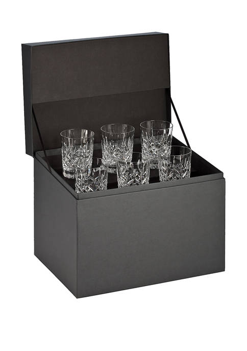 Set of 6 Lismore Double Old Fashioned Glasses