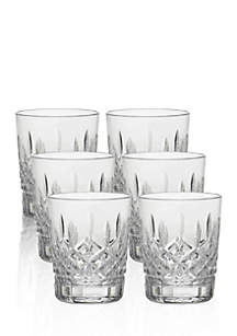 Lismore Set of 6 Boxed Double Old Fashioned