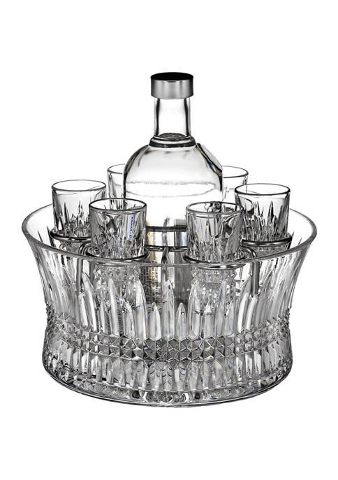 10 Inch Lismore Diamond Vodka Chiller Set