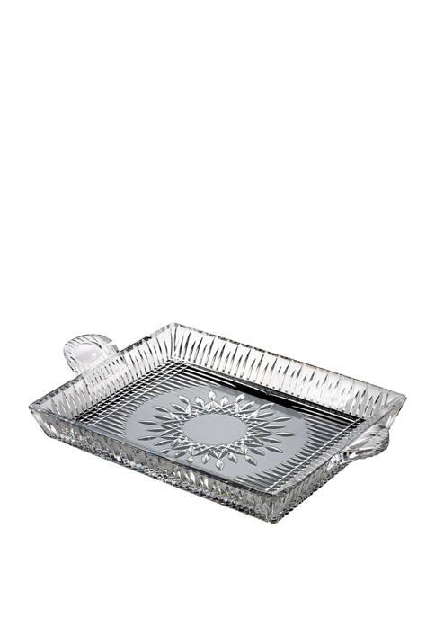 12 Inch Lismore Diamond Square Serving Tray