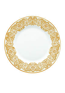 Waterford Lismore Lace Gold 8-in. Salad plate