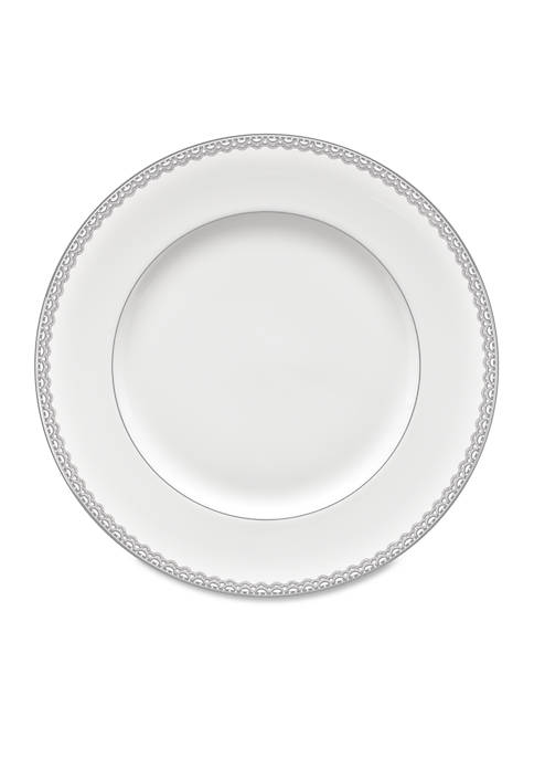 Lismore Lace Platinum Dinner Plate