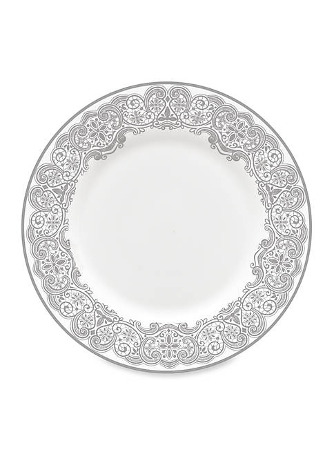 Lismore Lace Platinum Salad Plate 8-in.