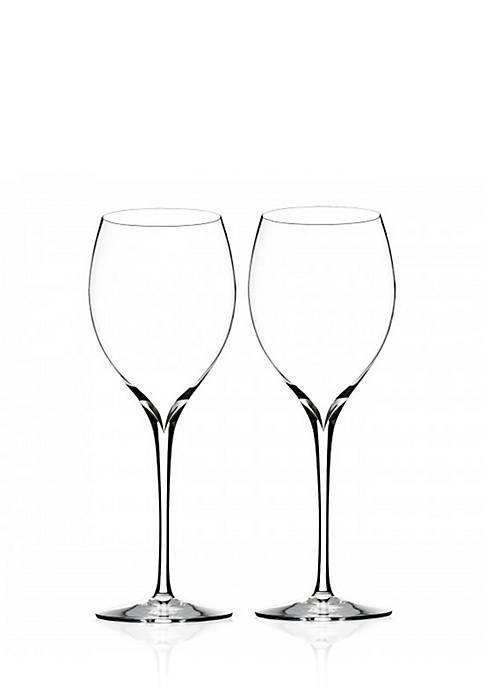 Waterford Set of 2 Elegance Collection Chardonnay Wine