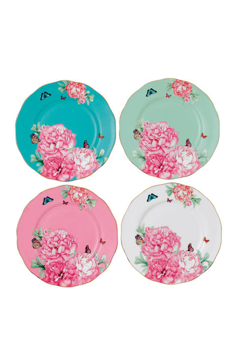 Set of 4 Accent  Plates
