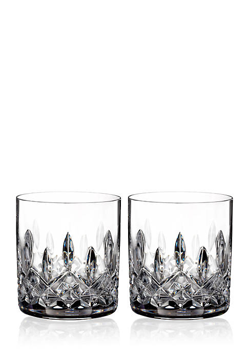 Lismore Straight Sided Tumbler Pair, 7-oz.