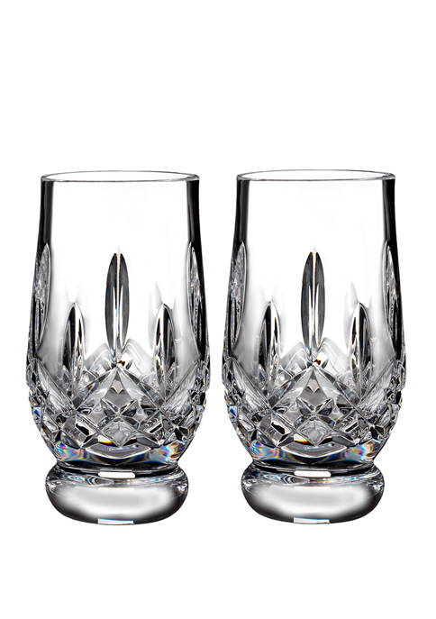 Lismore Connoisseur Set of 2 5.5 Ounce Footed Tasting Tumblers