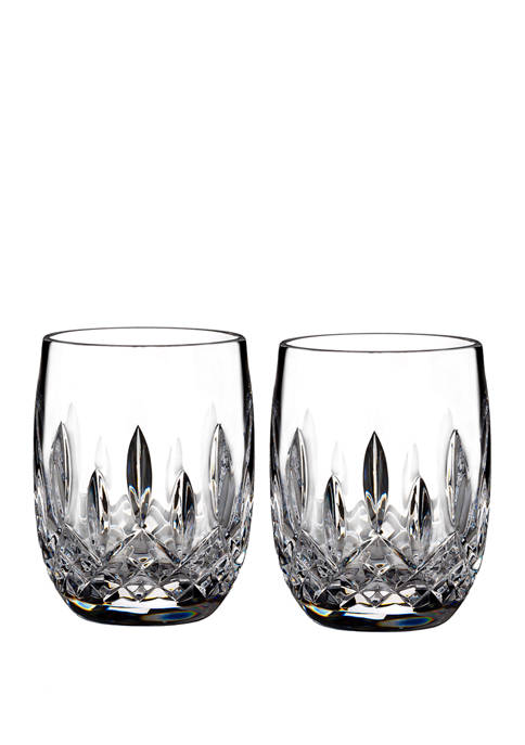 Lismore Connoisseur Set of 2 7 Ounce Round Tumblers