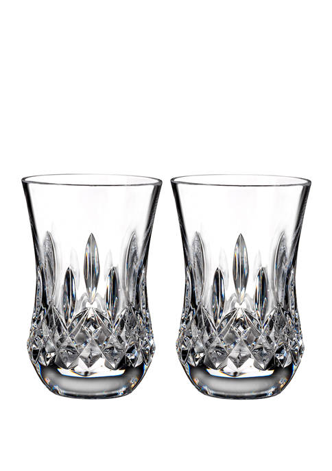 Lismore Connoisseur Set of 2 Flared Sipping Tumblers