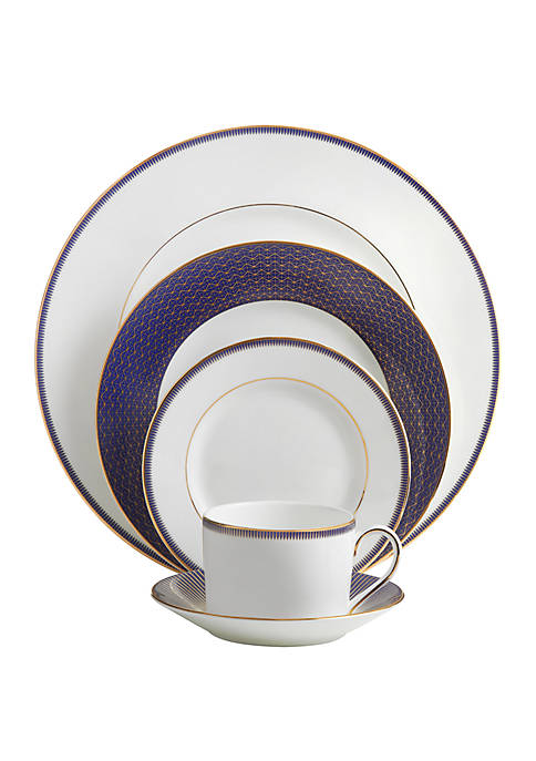 Waterford Lismore Diamond 5 Piece Place Setting
