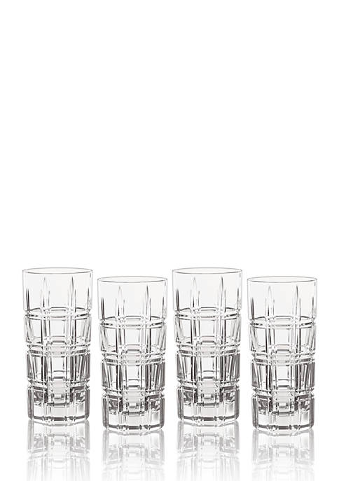 Marquis by Waterford Crosby HiBall, Set of 4