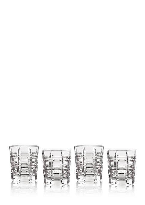 Crosby Double Old Fashion, Set of 4