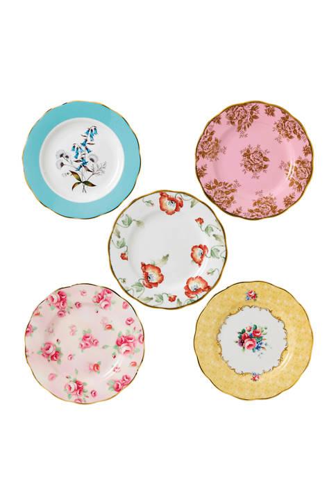 5 Piece 100 Year Plate Set