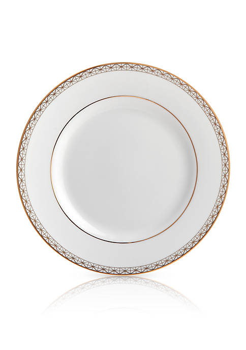 Lismore Diamond Gold Bread & Butter Plate