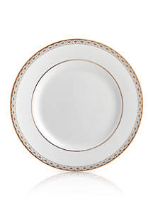 Waterford Lismore Diamond Gold Bread & Butter Plate