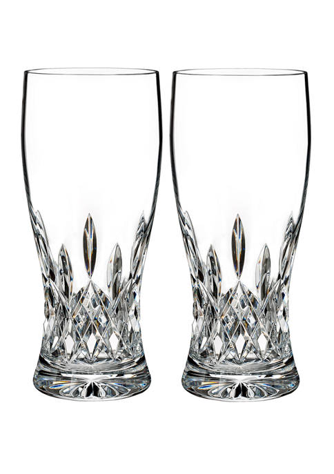 Waterford Lismore Connoisseur Set of 2 18 Ounce