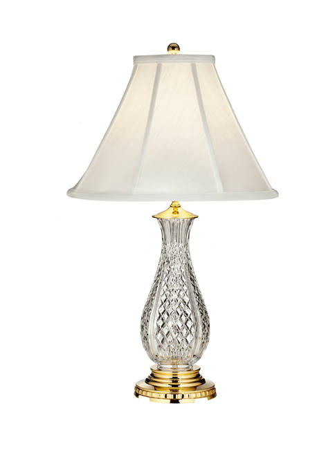27.5 Inch Ashbrooke Polished Brass Table Lamp