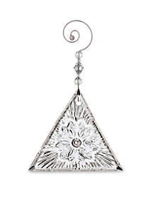 2018 Times Square Triangle Ornament