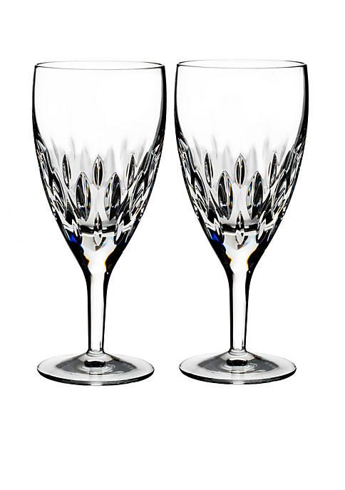 Ardan Enis Crystal Iced Beverage, Set of 2