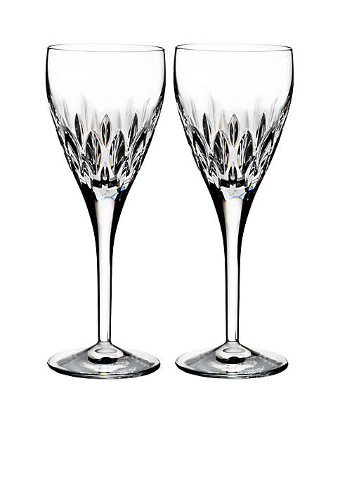 Waterford Ardan Enis Crystal Wine Goblet, Set of