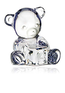 Waterford Giftology Baby Bear with Block