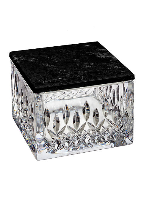 Waterford Lismore Opulence Covered Box with Marble Lid