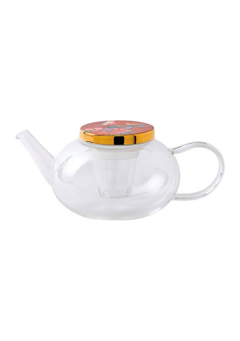 Paeonia Blush Teapot Glass
