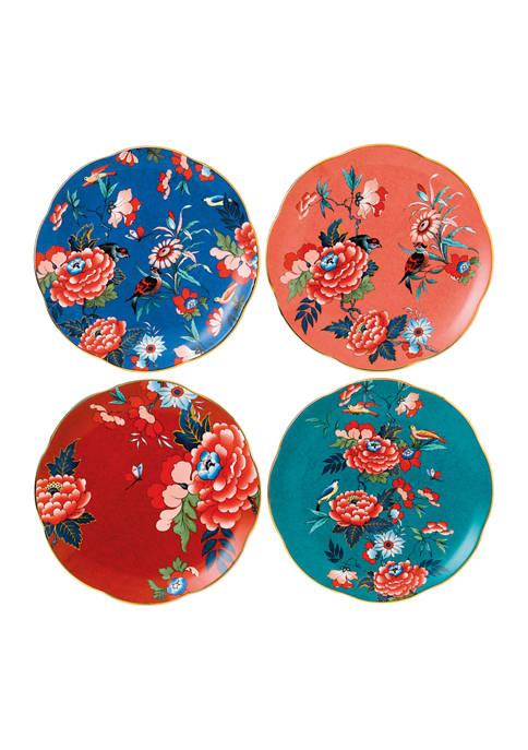 Paeonia Blush Plate Set of 4