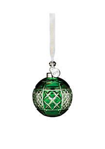 2018 Emerald Ball Ornament