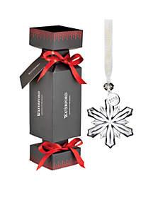 Annual Cracker Snowflake Ornament
