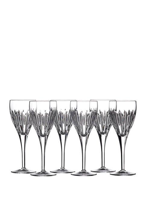Set of 6 Mara Wine Glass Set