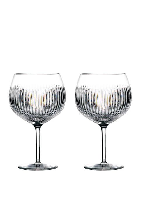 Set of 2 Gin Journeys Aras Balloon Glasses