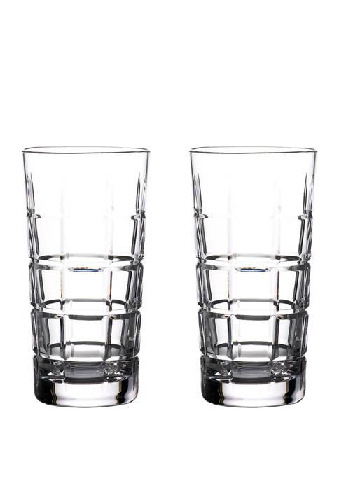 Set of 2 Gin Journeys Cluin Hiball Glasses
