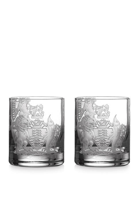 Waterford Set of 2 Crest Tumblers