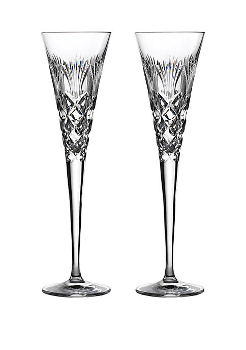 Times Square Clear Flute Set
