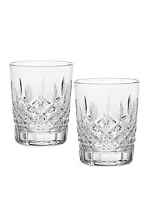 Lismore Double Old Fashioned, 12 oz. Pair