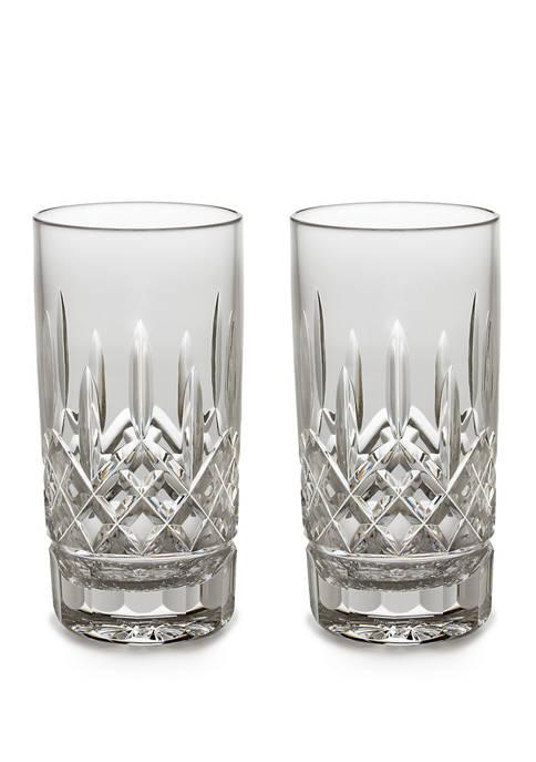 Set of 2 Lismore HiBall Glasses