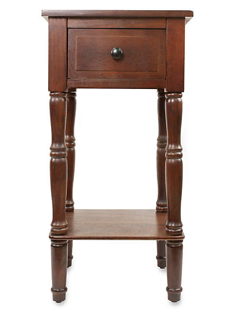 Patton Picture Simplify One Drawer Square Accent Table