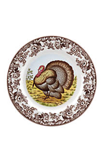 Woodland Turkey Round Platter