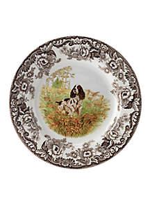 Spode Woodland English Springer Spaniel Dinner